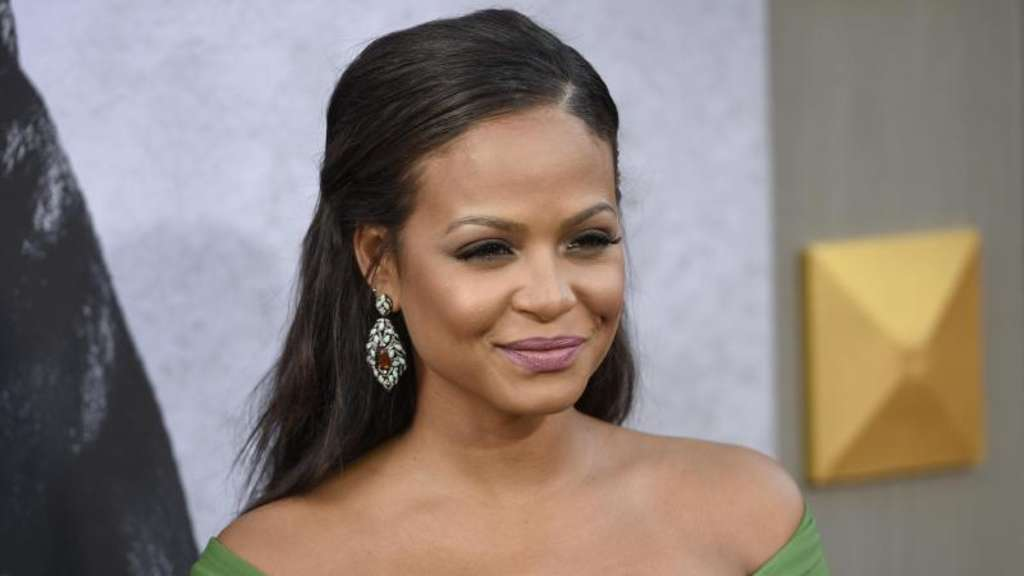 "US-Sängerin Christina Milian bei der Weltpremiere des Films ""King Arthur - Legend of the Sword"". Foto: Chris Pizzello"