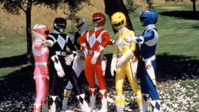 "Die kultige Action-Serie ""Power Rangers""."
