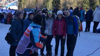 Biathlon-Weltcup in Ruhpolding am 17. Januar