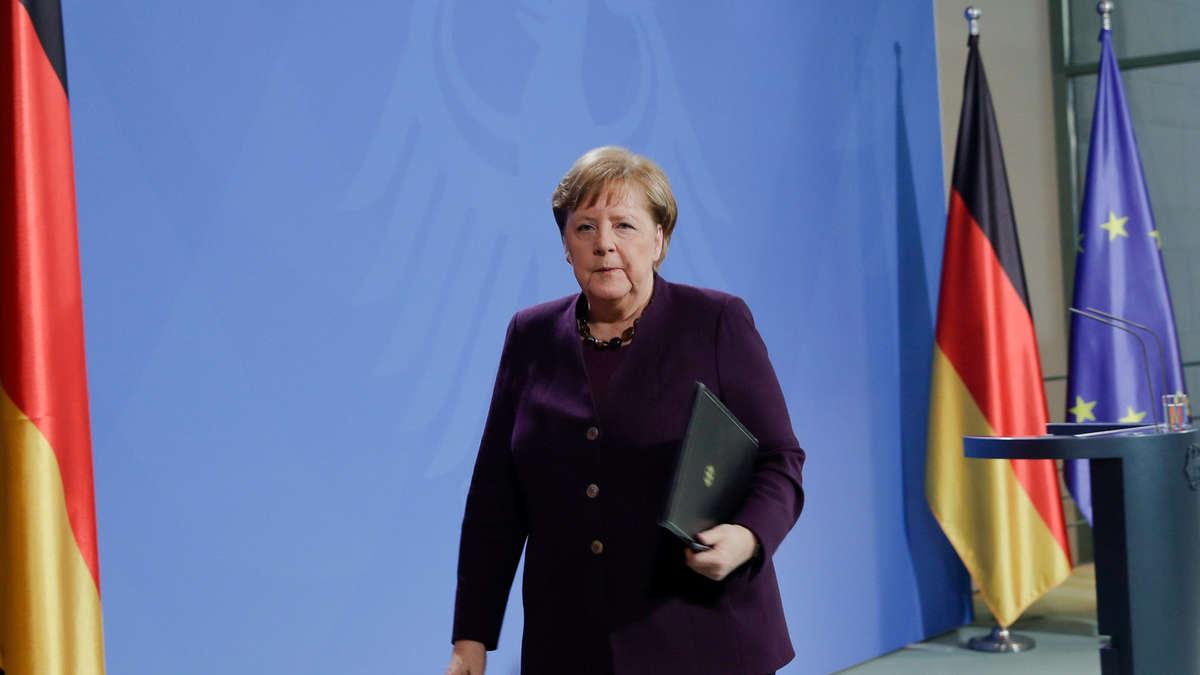 Ausgangssperre Merkel