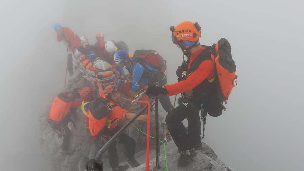 Bergwacht In Der Region Chiemgau 2019 Bei 1.152 Einsätzen
