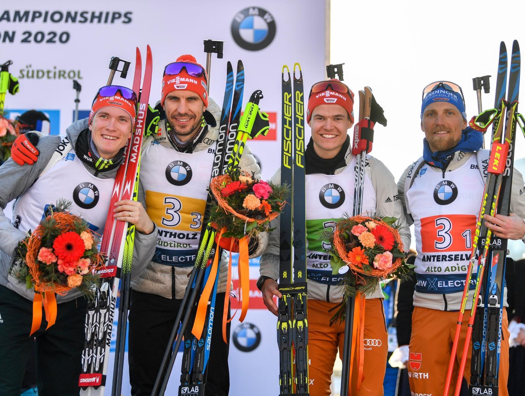 Biathlon In Oslo 2021