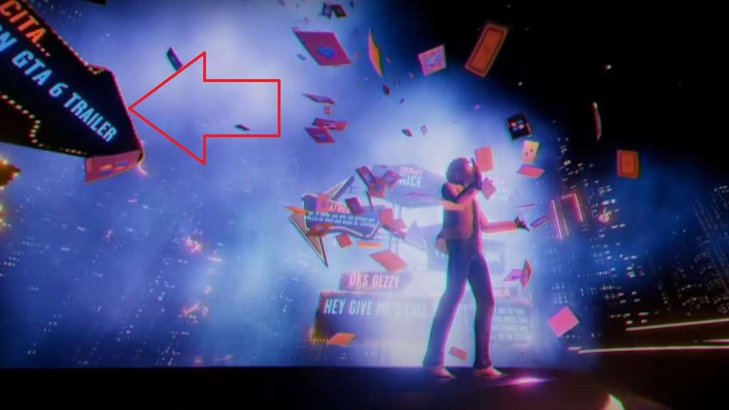 "The Weeknd / Trailer-Screenshot aus ""Blinding Lights""-Musikvideo GTA 6"